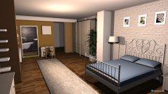 Raumgestaltung dormitor 1 in der Kategorie Schlafzimmer