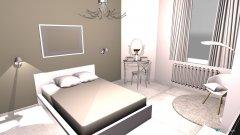 Raumgestaltung dormitorio Lisa in der Kategorie Schlafzimmer