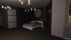 Raumgestaltung drømme værelset in der Kategorie Schlafzimmer