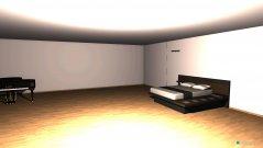 Raumgestaltung dream bedroom in der Kategorie Schlafzimmer