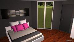 Raumgestaltung Eckraum in der Kategorie Schlafzimmer