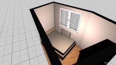 Raumgestaltung Eckschlafzimmer in der Kategorie Schlafzimmer