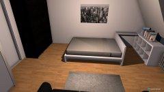 Raumgestaltung Edelweiß 2 in der Kategorie Schlafzimmer