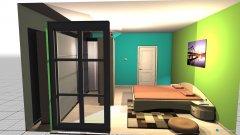 Raumgestaltung EG Schlafzimmer  in der Kategorie Schlafzimmer