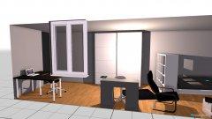 Raumgestaltung Eileen Zimmer in der Kategorie Schlafzimmer