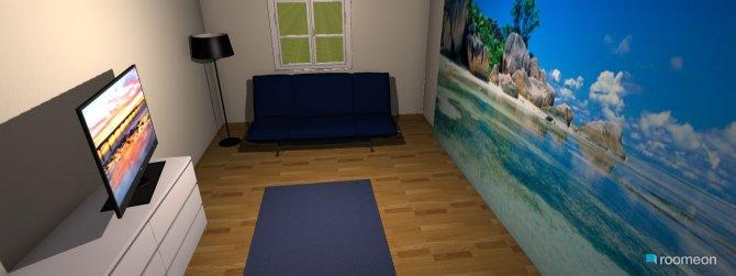 Raumgestaltung Ein Raum für Gäste in der Kategorie Schlafzimmer