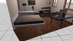 Raumgestaltung eins in der Kategorie Schlafzimmer