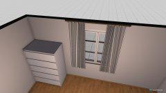 Raumgestaltung Einzelzimmer in der Kategorie Schlafzimmer