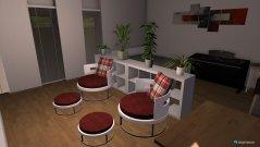 Raumgestaltung Einzimmer-Wohnung in der Kategorie Schlafzimmer