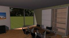 Raumgestaltung Einzimmerwohnung Raphael in der Kategorie Schlafzimmer