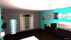 Raumgestaltung Elegancka sypialnia in der Kategorie Schlafzimmer