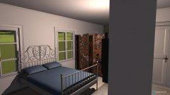 Raumgestaltung Elena + Bad in der Kategorie Schlafzimmer