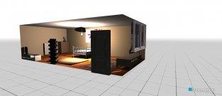 Raumgestaltung ellies bedroom in der Kategorie Schlafzimmer