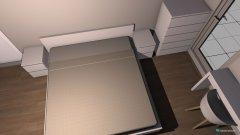 Raumgestaltung Eltern Schlafzimmer in der Kategorie Schlafzimmer
