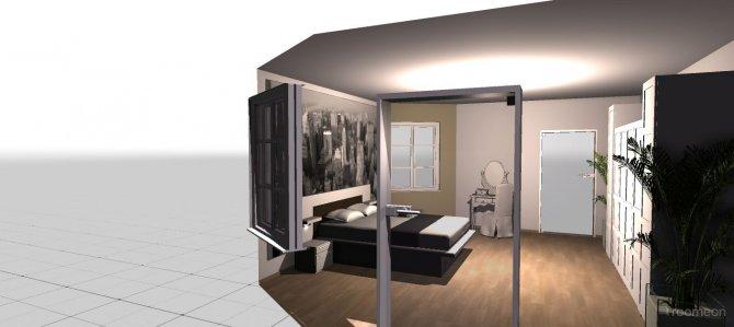 Raumgestaltung Elternschlafzimmern in der Kategorie Schlafzimmer