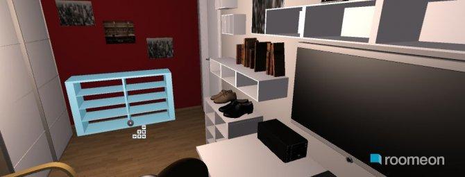 Raumgestaltung entertainment in der Kategorie Schlafzimmer