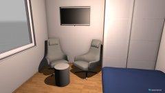 Raumgestaltung Entwurf 1 Reindlstraße in der Kategorie Schlafzimmer
