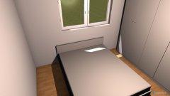 Raumgestaltung Entwurf 2 in der Kategorie Schlafzimmer
