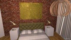 Raumgestaltung Entwurf Schlafzimmer maßgetreu in der Kategorie Schlafzimmer