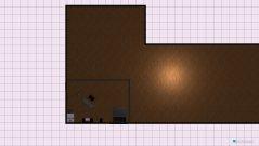 Raumgestaltung Erdgeschoss L.A in der Kategorie Schlafzimmer