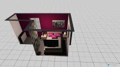 Raumgestaltung Eric und Carina Schlafzimmer in der Kategorie Schlafzimmer