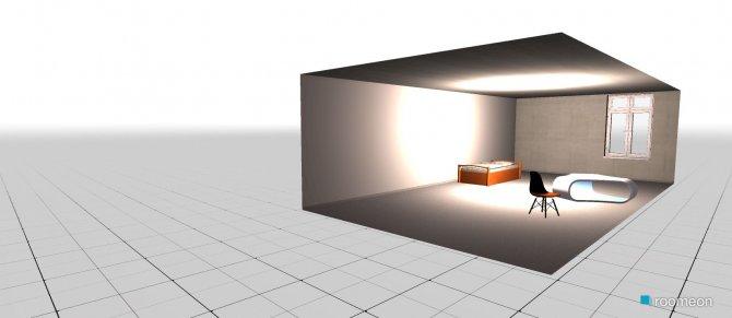 Raumgestaltung essai1 in der Kategorie Schlafzimmer