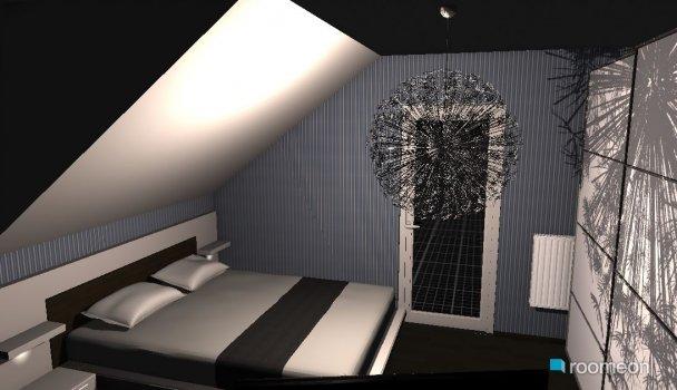 Raumgestaltung ex Büro in der Kategorie Schlafzimmer