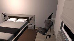 Raumgestaltung Ferienwohnung Borkum in der Kategorie Schlafzimmer
