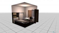 Raumgestaltung first plan in der Kategorie Schlafzimmer