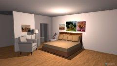 Raumgestaltung floods in der Kategorie Schlafzimmer
