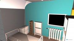 Raumgestaltung Franzi zimmer 1 in der Kategorie Schlafzimmer