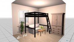 Raumgestaltung Frau-Schla-Zi in der Kategorie Schlafzimmer