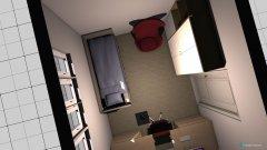 Raumgestaltung gæsteværelse in der Kategorie Schlafzimmer