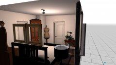 Raumgestaltung Gästezimmer (Bett 120 Mitte) in der Kategorie Schlafzimmer