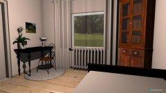 Raumgestaltung Gästezimmer (Bett 120) in der Kategorie Schlafzimmer