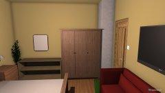 Raumgestaltung Gästezimmer eins in der Kategorie Schlafzimmer