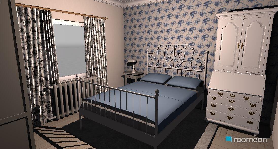 Raumgestaltung Gästezimmer Mit Kommode Statt Kleiderschrank In Der Kategorie Schlafzimmer
