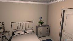 Raumgestaltung Gästezimmer (neutral Barrock) in der Kategorie Schlafzimmer