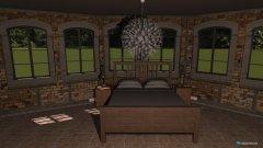 Raumgestaltung Gästezimmer rustikal in der Kategorie Schlafzimmer