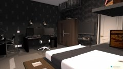 Raumgestaltung Gaming Room in der Kategorie Schlafzimmer