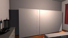Raumgestaltung Ganz in weiss in der Kategorie Schlafzimmer