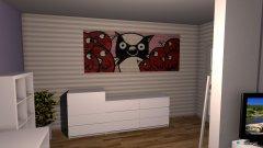 Raumgestaltung Girl bedroom in der Kategorie Schlafzimmer