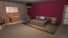 Raumgestaltung Girl Room in der Kategorie Schlafzimmer