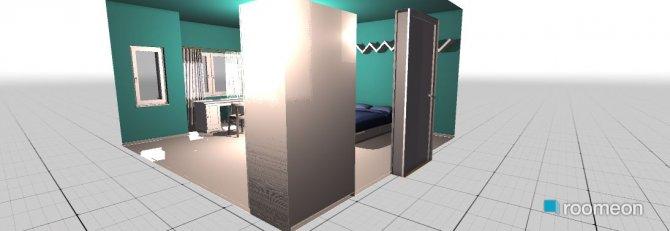Raumgestaltung girl's bedroom in der Kategorie Schlafzimmer