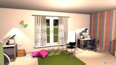 Raumgestaltung Girly bedroom in der Kategorie Schlafzimmer