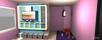 Raumgestaltung Gréta szobája in der Kategorie Schlafzimmer