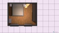 Raumgestaltung Großes Schlafzimmer in der Kategorie Schlafzimmer