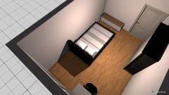 Raumgestaltung großes zimmer in der Kategorie Schlafzimmer