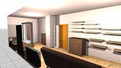 Raumgestaltung Großeszimmer in der Kategorie Schlafzimmer
