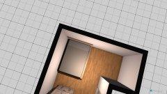 Raumgestaltung Grundriss offen in der Kategorie Schlafzimmer